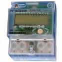 Електромер монофазен с вграден часовник 230V 1P 4M 5/60A 2-тарифен LCD FMS100