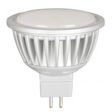 Светодиодна LED крушка 220V GU 5.3 MR16 6W 2700К LG22016627 Ultralux