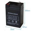 Акумулаторна батерия 6V 4,5AH
