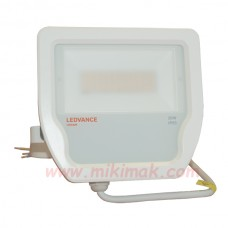 Светодиоден LED прожектор 20W 3000K IP65 FLOODLIGHT OSRAM черен/бял корпус