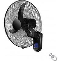 """Вентилатор за стена с дистанционно управление 220V/60W 18"""" черен"""