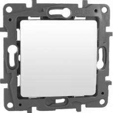 Ключ единичен сх.1 механизъм LEGRAND  NILOE  бял 664500